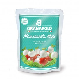 Granarolo Mozzarella Mini 125 Grs cx12Un