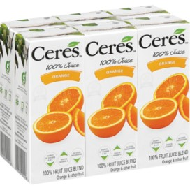 Ceres Sumo 100% Laranja  (200Ml)  cx24Un