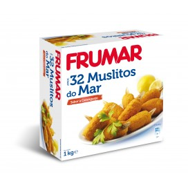 MUSLITOS DO MAR FRUMAR 1 cx 4Kg