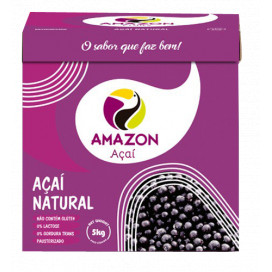 Açaí Natural cx 5 kg