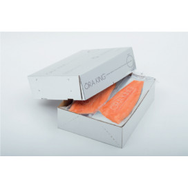 New Zealand Smoked King Salmon box 11 kg aprox.