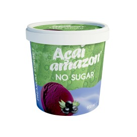 SORBET DE AÇAÍ AMAZON NO SUGAR 900ML - Cx/6