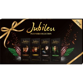 Jubileu Tablete choc.Plus Noir Collection 12x400g