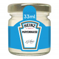 Mayonnaise Heinz  Roomservice 80 x 33ml