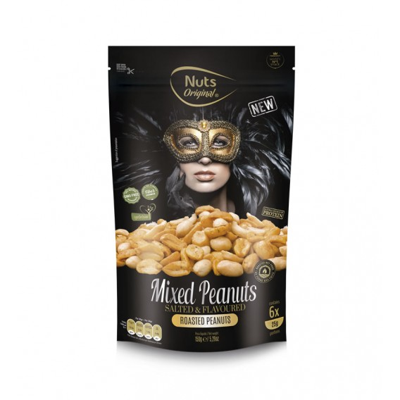 Nuts Original Mixed Peanuts - 150gr