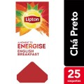 Cha Lipton English Breakf 25 Saq